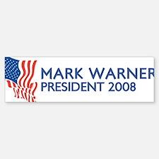 MARK WARNER for President Bumper Bumper Bumper Sticker