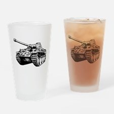 Panther Tank Drinking Glass