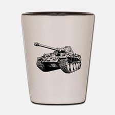 Panther Tank Shot Glass