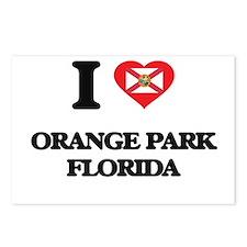 I love Orange Park Florid Postcards (Package of 8)