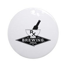 Rx Brewing Co logo Ornament (Round)