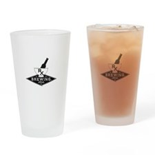 Rx Brewing Co Logo Drinking Glass