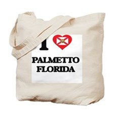 I love Palmetto Florida Tote Bag