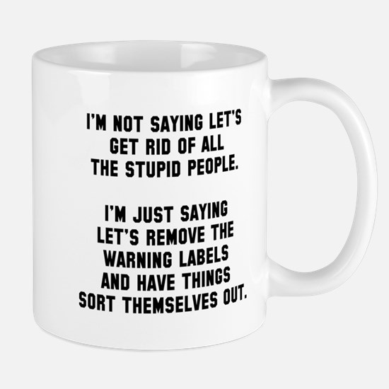 remove warning Mug