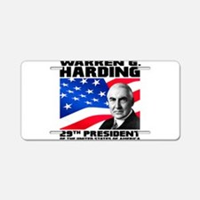 29 Harding Aluminum License Plate