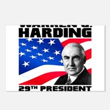 29 Harding Postcards (Package of 8)