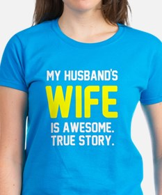 Husband's wife awesome Tee