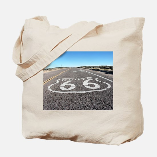 Route 66 Tote Bag
