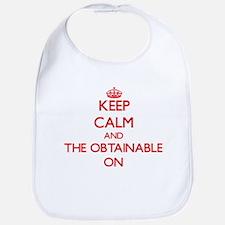 Keep Calm and The Obtainable ON Bib