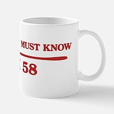 I am 58 Mug