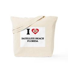 I love Satellite Beach Florida Tote Bag