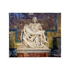 The Pietà  Throw Blanket