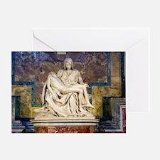 The Pietà  Greeting Card