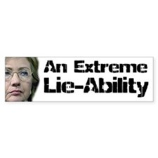 Lie Ability Bumper Bumper Sticker