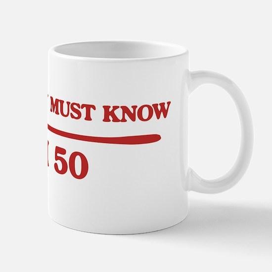 I am 50 Mug