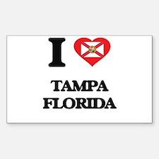 I love Tampa Florida Decal