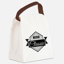 Birthday Born 1945 Classic Editio Canvas Lunch Bag