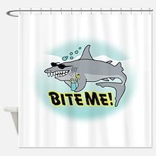 BITE ME! Shower Curtain