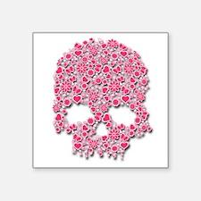 Heart Skull Sticker