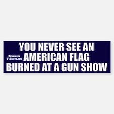 Gun Show, Bumper Car Car Sticker