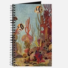 Vintage Tropical Angelfish Journal