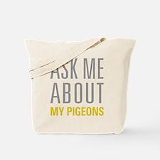 My Pigeons Tote Bag