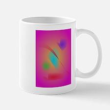 Deep Pink Contrasting Colors Mugs