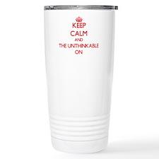 Keep Calm and The Unthi Travel Mug