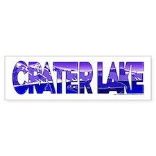 Crater Lake Bumper Sticker