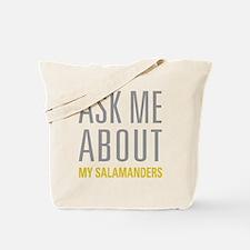 My Salamanders Tote Bag