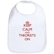 Keep Calm and Theorists ON Bib