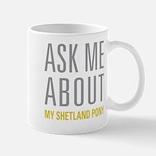 My Shetland Pony Mugs