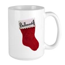 Bullmastiff Stocking Mug