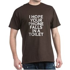 Phone in Toilet T-Shirt