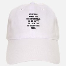 Dog uncomfortable Baseball Baseball Cap