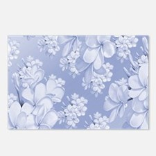 Delicate Floral Pattern Postcards (Package of 8)