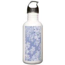Delicate Floral Patter Water Bottle