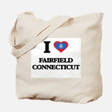 I love Fairfield Connecticut Tote Bag