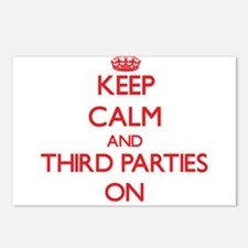 Keep Calm and Third Parti Postcards (Package of 8)