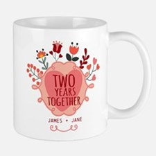 Personalized Gift for 2nd Anniversary Mug