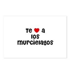 Te * a los murcielagos Postcards (Package of 8)