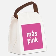 Mas Pink on Pink Canvas Lunch Bag