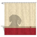 Dog Shower Curtains