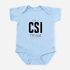 It's a CSI Thing Infant Bodysuit