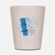 Vintage Tiki Shot Glass