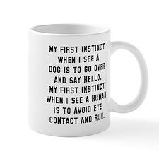 First instinct Mug