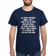 First instinct T-Shirt