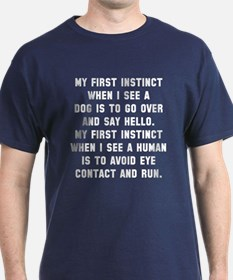 First instinct T-Shirt