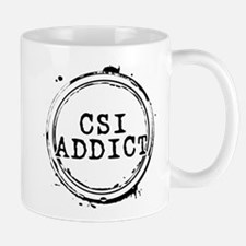 CSI Addict Stamp Mug