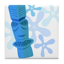 Vintage Tiki Tile Coaster